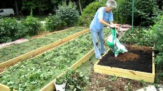 Raised Strawberry Beds Finished - Wisconsin Garden Video Blog 174