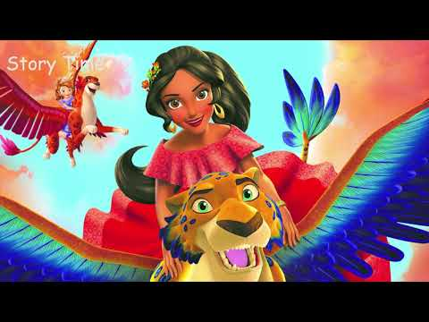 Reading Story Elena and the Secret of Avalor Disney Stories Time