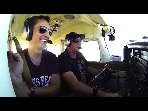 DME Arcs | Cessna 172M | Flying with Dad