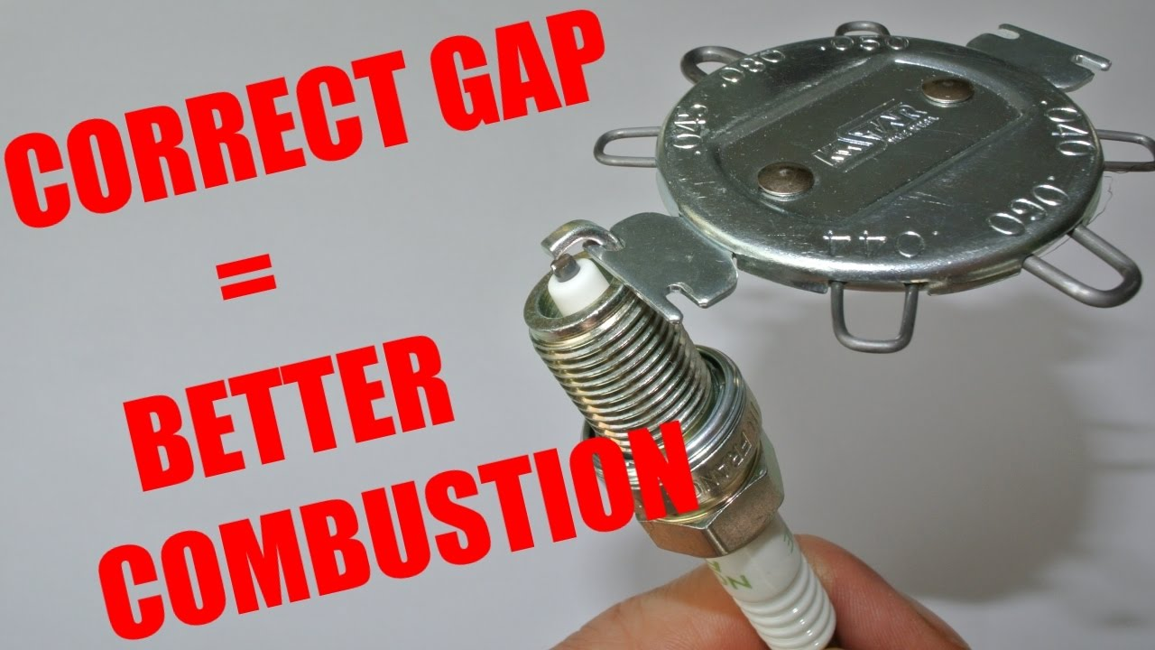 how to gap a spark plug properly