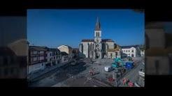 Aménagements Coeur de ville d'Orthez 2016-2018