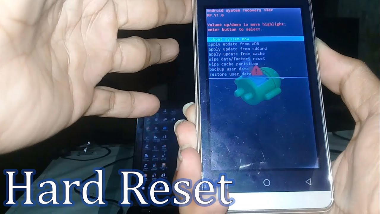 How To Hard Reset Brandcode B4s Using Recovery Mode Youtube