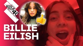 Billie Eilish FIRED her stylist & spills on Camila Cabello's new music | FULL INTERVIEW
