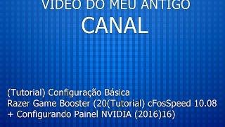 tutorial cfosspeed 10 08 configurando painel nvidia 2016