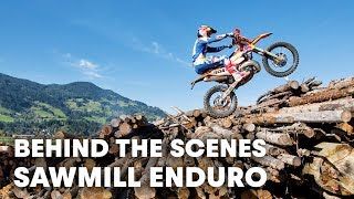 Behind the scenes of Sawmill Enduro w/ Manuel Lettenbichler