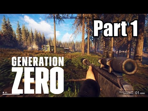 GENERATION ZERO [PS4 PRO] Gameplay Walkthrough Part 1 (No Commentary)