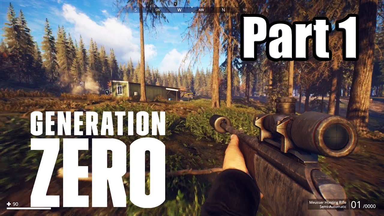 Download GENERATION ZERO [PS4 PRO] Gameplay Walkthrough Part 1 (No Commentary)