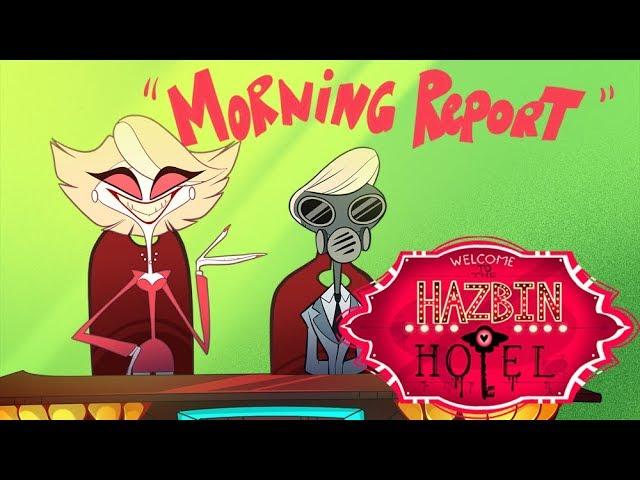 HAZBIN HOTEL -Morning Report -(CLIP)-
