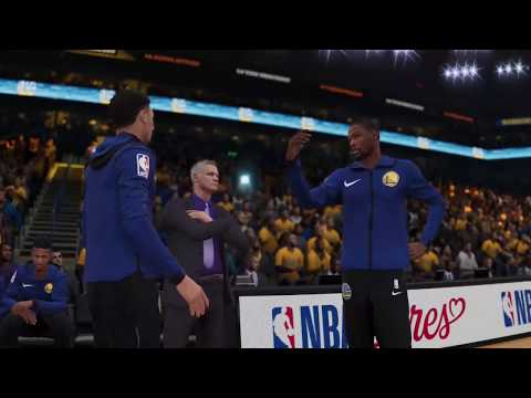 NBA Live 19 Lakers vs Warriors (FULL GAME)