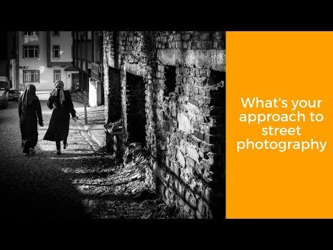 #StreetChat What's your approach to street photography?