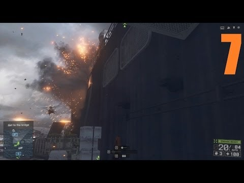 [Part 7] Battlefield 4 Single Player Campaign Gameplay Walkthrough (BF4 Campaign Gameplay)