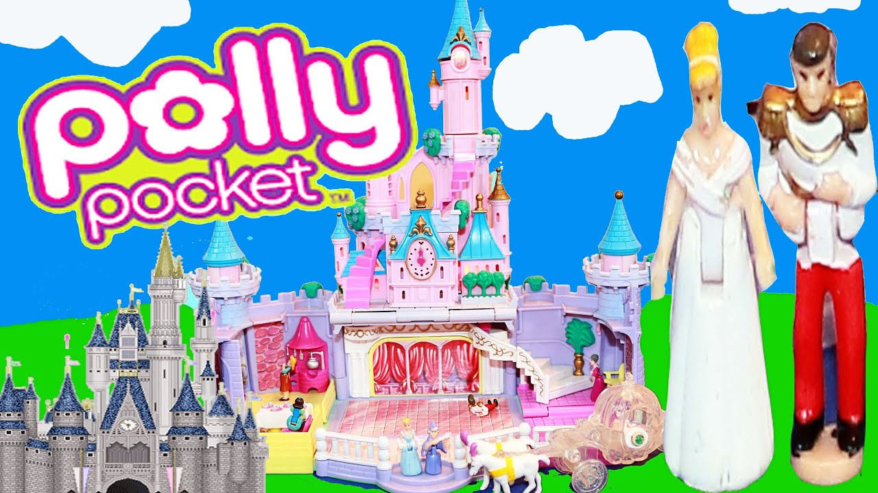 Cinderella Castle Polly Pocket Review With Prince Charming Toys For Aladdin Wallpaper