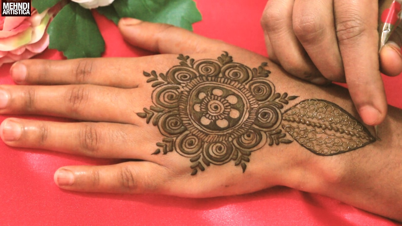 Most Beautiful Easy Simple Heena Mehndi Designs For Upper ...