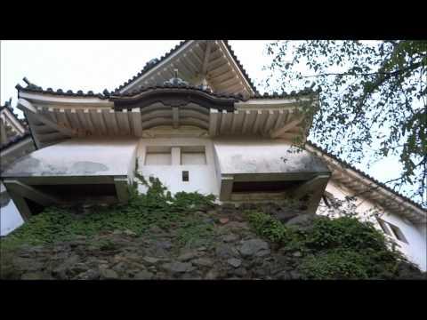 和歌山城ブラリ一周(Video around the Wakayama Castle Wakayama Prefecture of Japan)