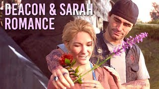 DAYS GONE – Deacon And Sarah Love Story  Romance All Sarah Cutscenes 【1080p HD】