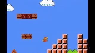 Super Mario Bros - Super Mario Bros Level 1 speed run better version - User video