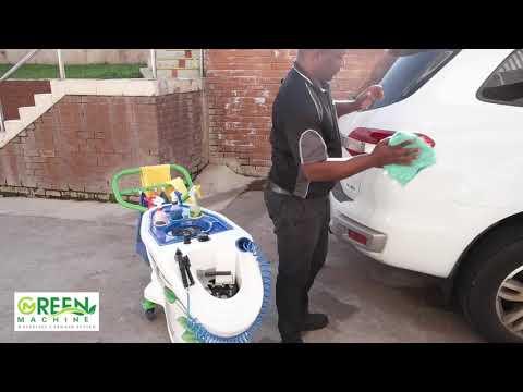 Green Machine | Waterless Carwash