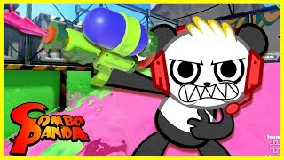 �������� ���� Splatoon PAINT WAR Let's Play with Combo Panda ������