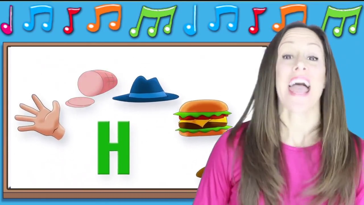Phonics Song Alphabet Song Letter Sounds Ghi I Signing For