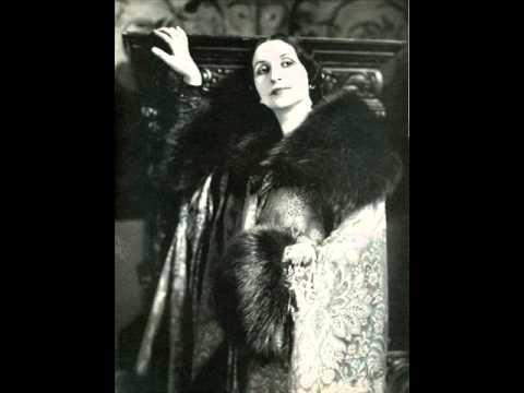 Amelita Galli-Curci - La Capinera (Benedict)