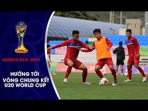 U20 VIỆT NAM TẬP TRUNG TỐI ĐA RÈN KỸ CHIẾN THUẬT CHO VCK U20 WORLD CUP SẮP TỚI