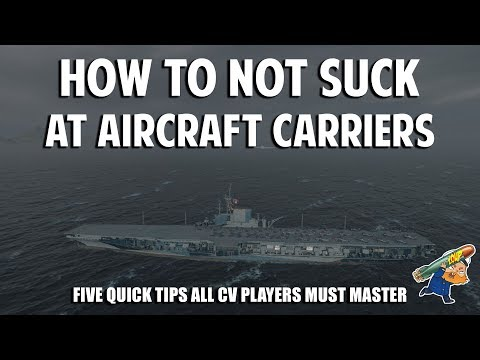 How not to Suck at Aircraft Carriers in World of Warships