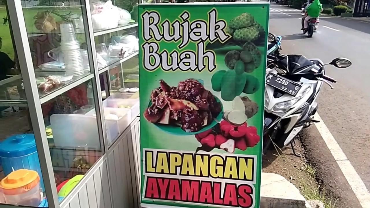 Rujak Bebeg Kuliner Cilacap Street Food Indonesia