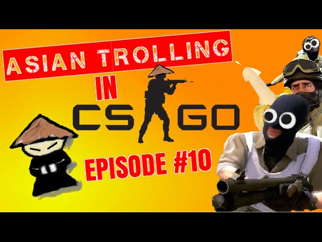 ANGRY KIDS 1v1 IN COMP! Asian Trolling in CSGO #10