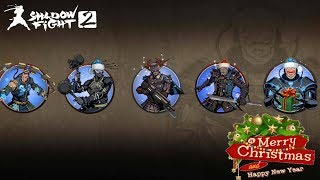 Shadow Fight 2 Xmas Shadow Vs Santa Titan And Bodyguards