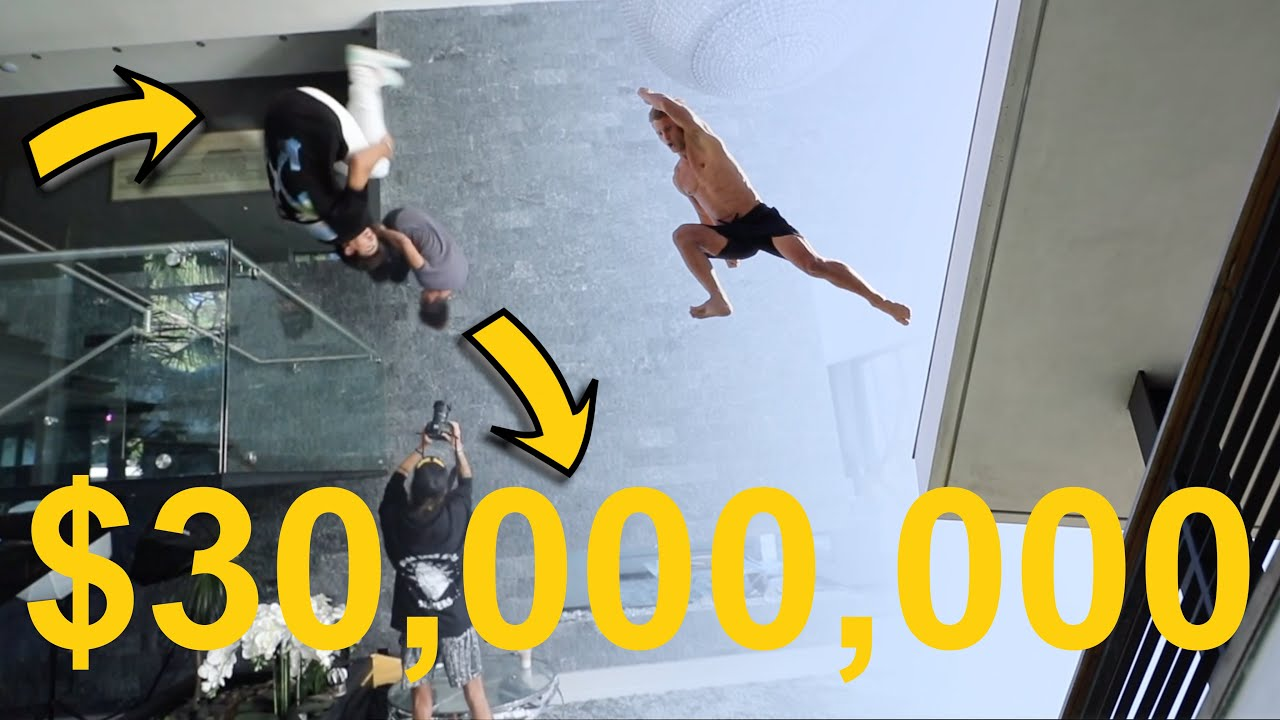 Freerunning in Billionaires $30 Million House