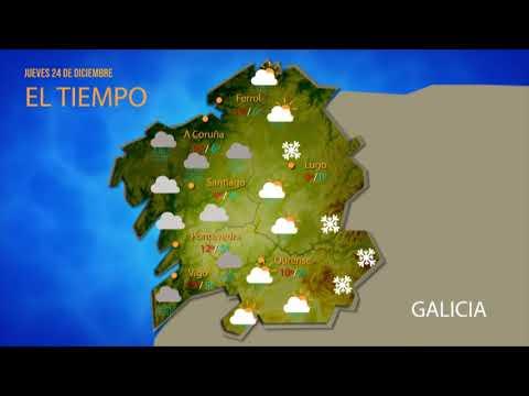 ¿Qué tiempo nos espera esta Nochebuena en Ourense?