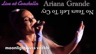 Ariana Grande No Tears Left To Cry (Live at Coachella) Audio