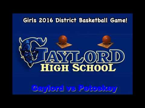 Gaylord vs Petoskey District Highlight Audio