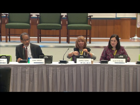 11/01/18 National Advisory Committee (NAC) Fall Meeting (Day 1)