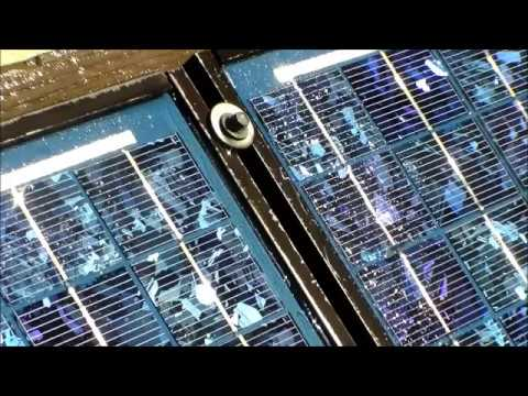Cleaning Solar Panels With Rainx