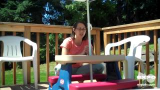 Little Tikes Picnic Table With Umbrella Review