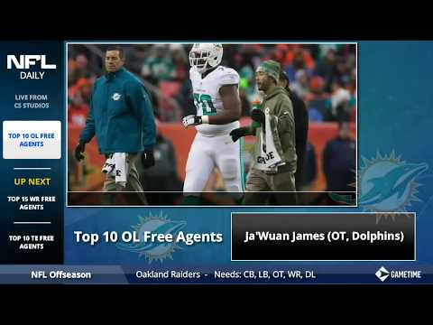 NFL Rumors + 2018 Top Free Agents At Wide Receiver, Tight End and Offensive Line