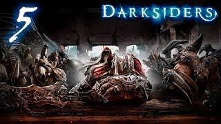 Darksiders: Wrath of War прохождение на геймпаде часть 5 Битва с Архангелами в полёте