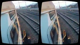 Extreme train riding in Oculus Rift 3D VR 2016(A brave guy to ride on the train for the Oculus Rift., 2016-03-17T17:36:02.000Z)