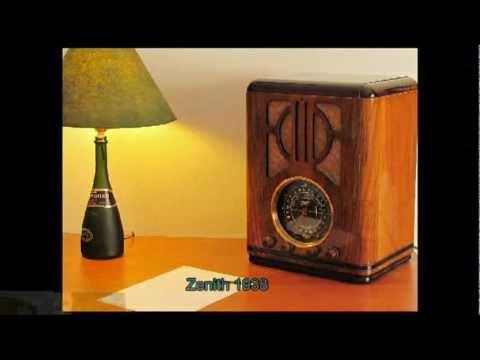 Mi Colecci�n de radios antiguas - My collection of vintage radios