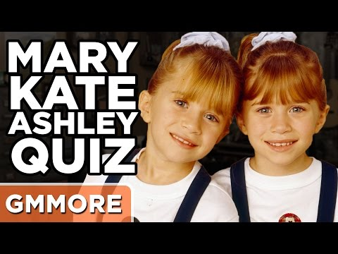 Are You More Mary Kate or Ashley?