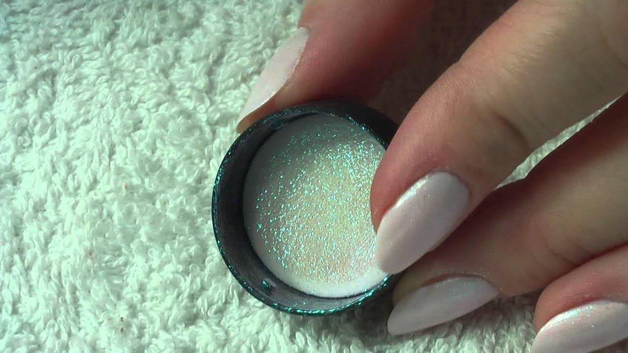 Efekt Syrenki Mermaid Effect Mac Pigment Nail Tutorial By