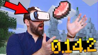 DOWNLOAD NOVO MINECRAFT PE COM REALIDADE VIRTUAL !! - Minecraft Pocket Edition 0.14.2