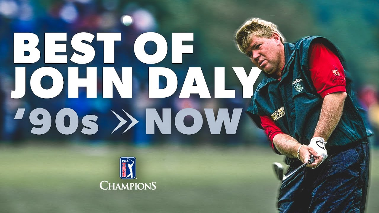 John Daly hit the range for a major as only he can  with a ...