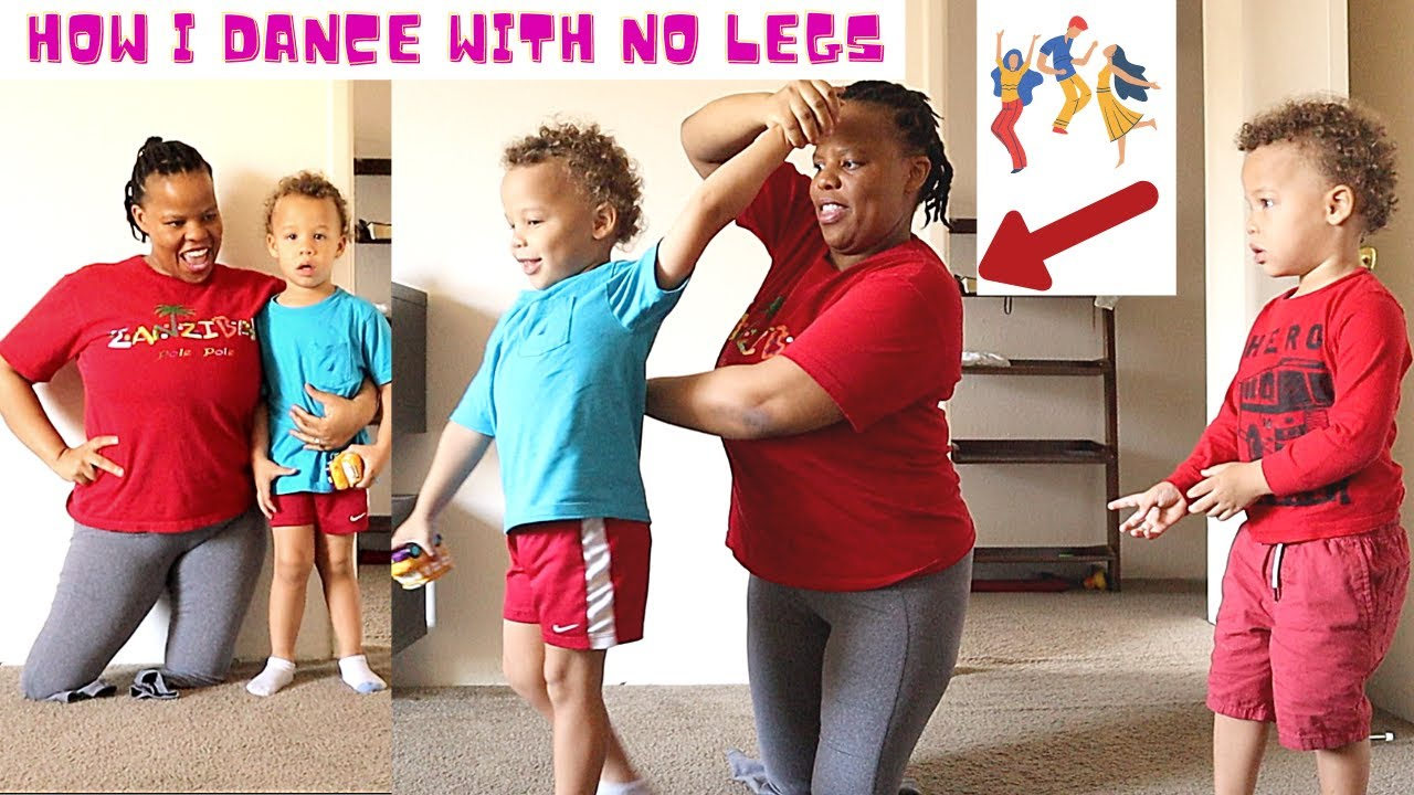 Day in the Life Without Legs Modeling and Dancing With 3 Kids under 4