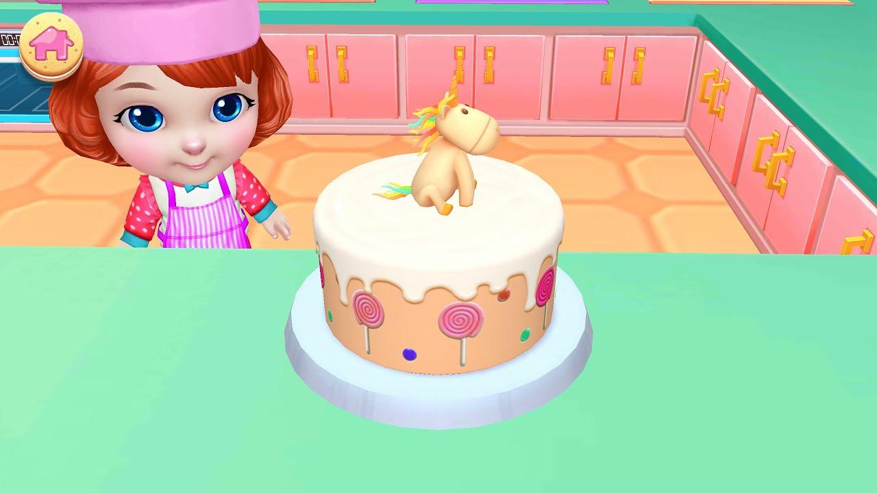 CAKE CARTOON FOR CHILDRENBirthday CAKE DECORATIONS CARTOON CAKE