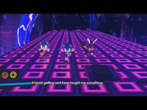 Sonic Forces - Triple Team Null Space Gameplay |