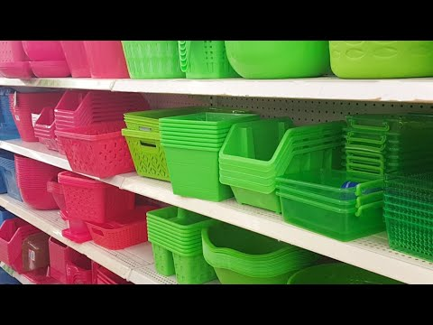 🔴 I'm at Dollar Tree Craft Room Organization Stuff