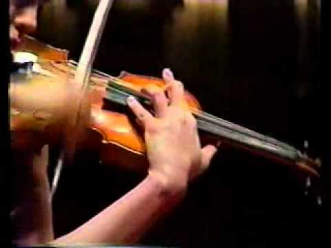 Anne Akiko Meyers Bruch Scottish Fantasy Part 2 Leonard Slatkin/St.Louis Symphony