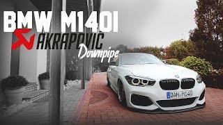 HOLYHALL | BMW M140I | AKRAPOVIC DOWNPIPE